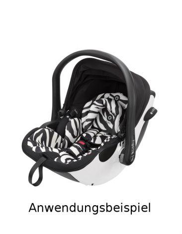 Ersatzbezug Kiddy Evoluna i-Size - Zebra