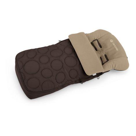 Concord Fußsack Cocoon Toffee Brown