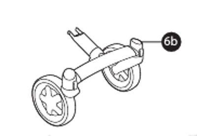 Vorderradaufhängung mit Rädern (4-Rad) für Buzz