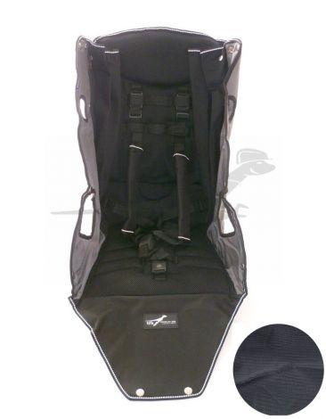 TFK Joggster Twist - Sitzbezug in schwarz