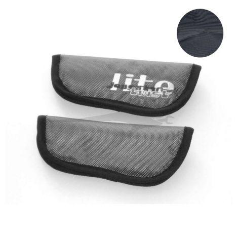 TFK Joggster Lite Twist - Gurtpolster Set, schwarz