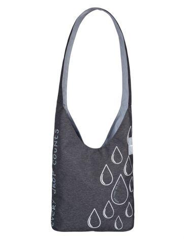 LÄSSIG Green Label Charity Shopper Ecoya® anthracite/light grey