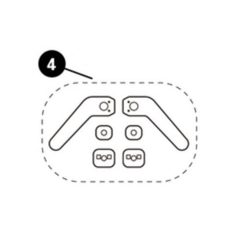 Gurtpolster Easy-in-Clip Pebble & Pebble Plus