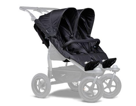 TFK Duo Sportkinderwagensitz-Einhänge (2 Stk) in schwarz