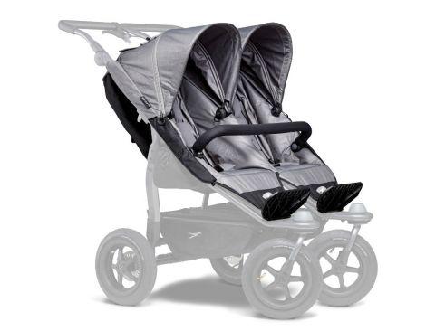TFK Duo Sportkinderwagensitz-Einhänge (2 Stk) in grau