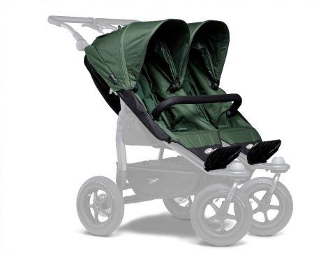 TFK Duo Sportkinderwagensitz-Einhänge (2 Stk) in olive