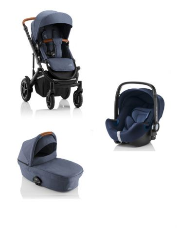 Britax Römer SMILE III – COMFORT SET in Indigo Blue
