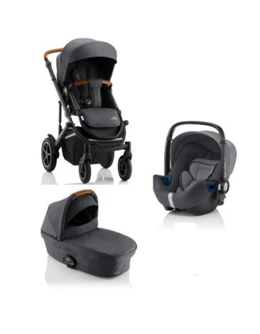 Britax Römer SMILE III – COMFORT SET in Midnight Grey