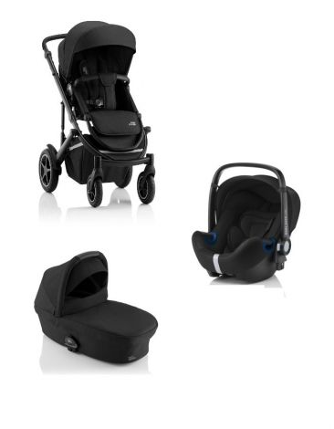 Britax Römer SMILE III – COMFORT SET in Space Black