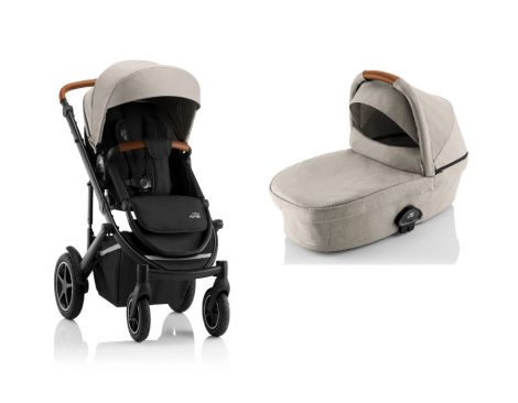 Britax Römer SMILE III – ESSENTIAL SET in Pure Beige