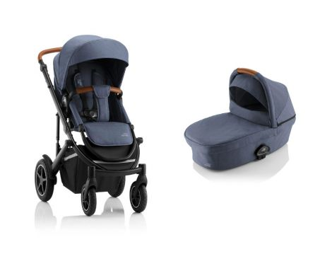 Britax Römer SMILE III – ESSENTIAL SET in Indigo Blue