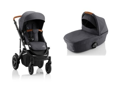 Britax Römer SMILE III – ESSENTIAL SET in Midnight Grey