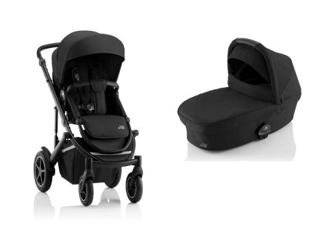 Britax Römer SMILE III – ESSENTIAL SET in Space Black