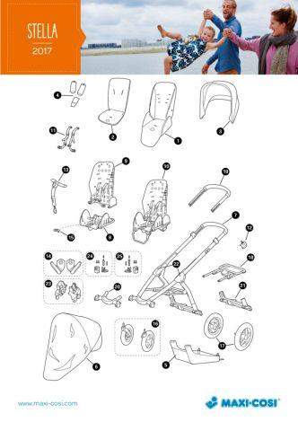 Kostenvoranschlag für Reparatur Maxi-Cosi Stella
